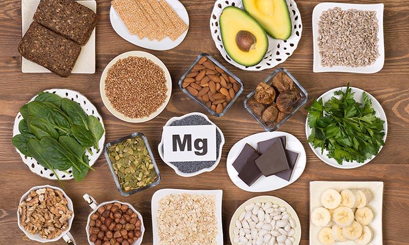 alimentos ricos en magnesio lista