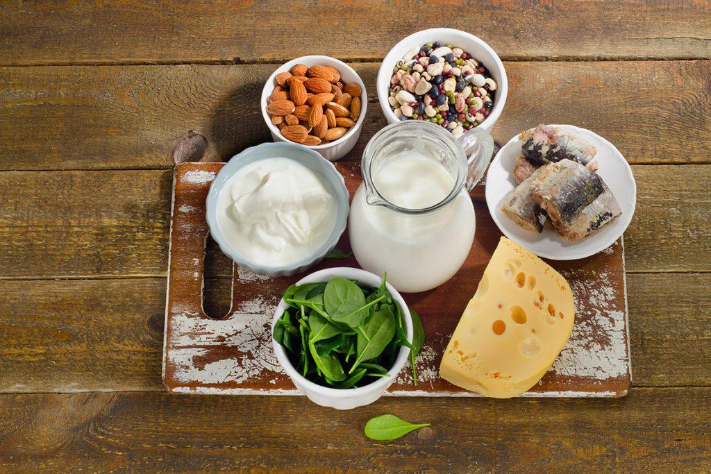 alimentos ricos en calcio ejemplos
