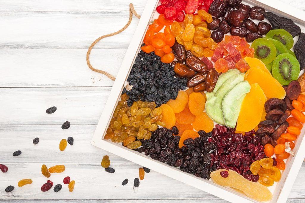 frutas deshidratadas son buenas calorías