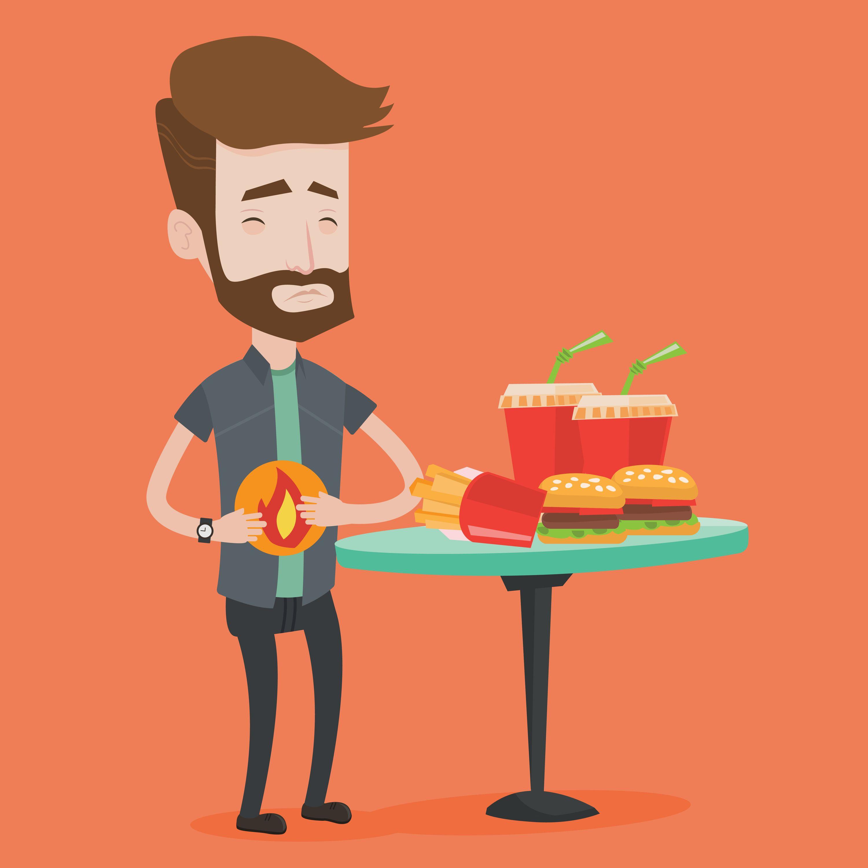 Gastritis –Alimentos permitidos y prohibidos
