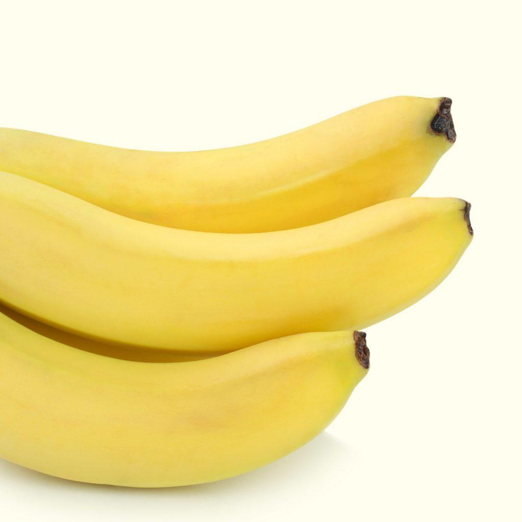 alimentos ricos en potasio bananas