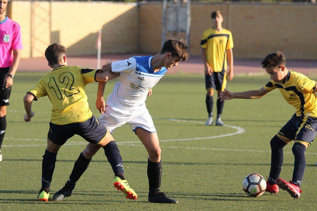rutina de fútbol para adolescentes