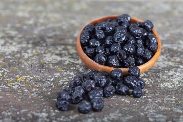 arándanos deshidratados valor nutricional