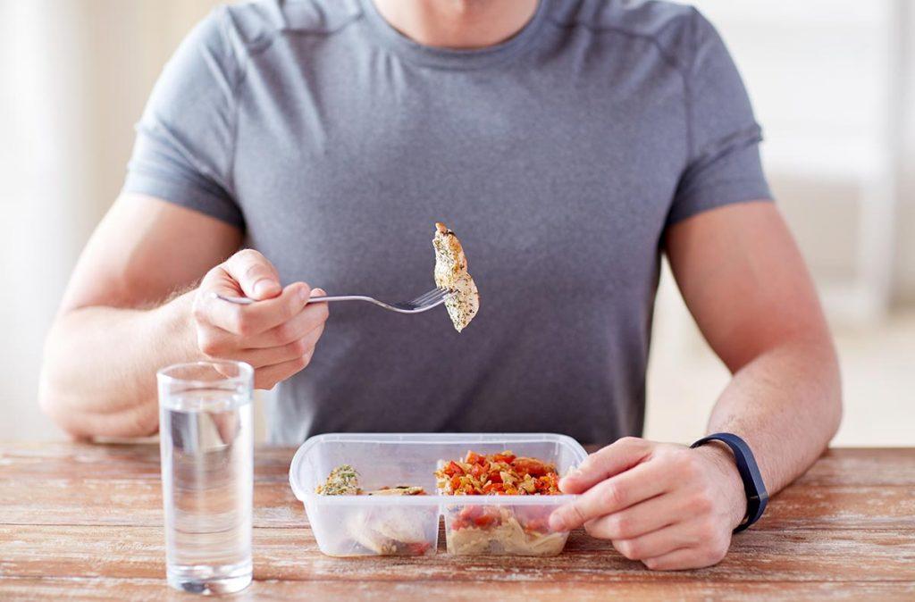 dieta para masa muscular magra hombre
