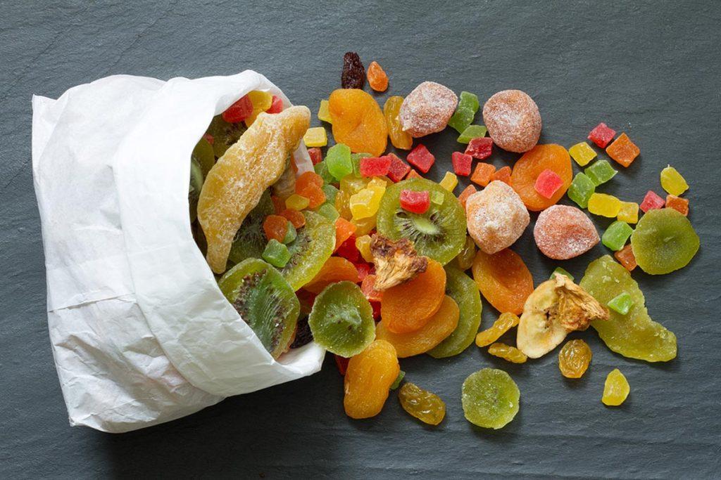 fruta deshidratada valor nutricional