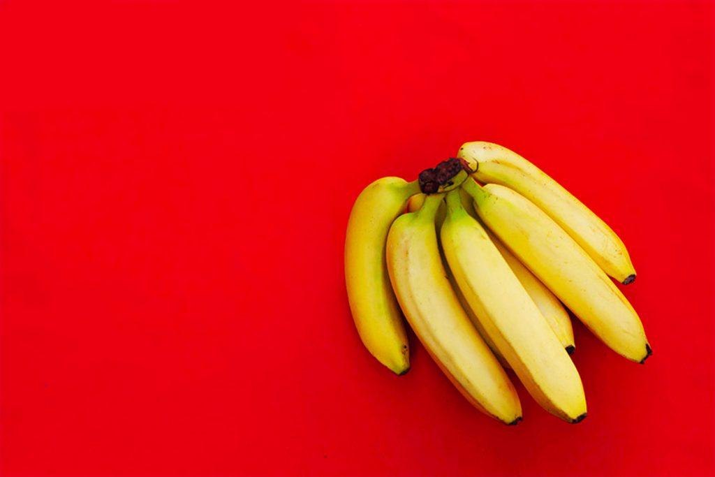 valor nutricional del plátano 100 g