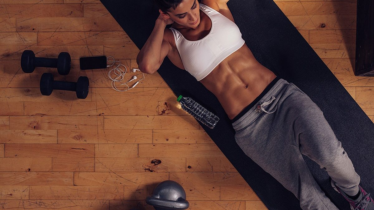 How to achieve a fitness body?  - Exercises and diet for women