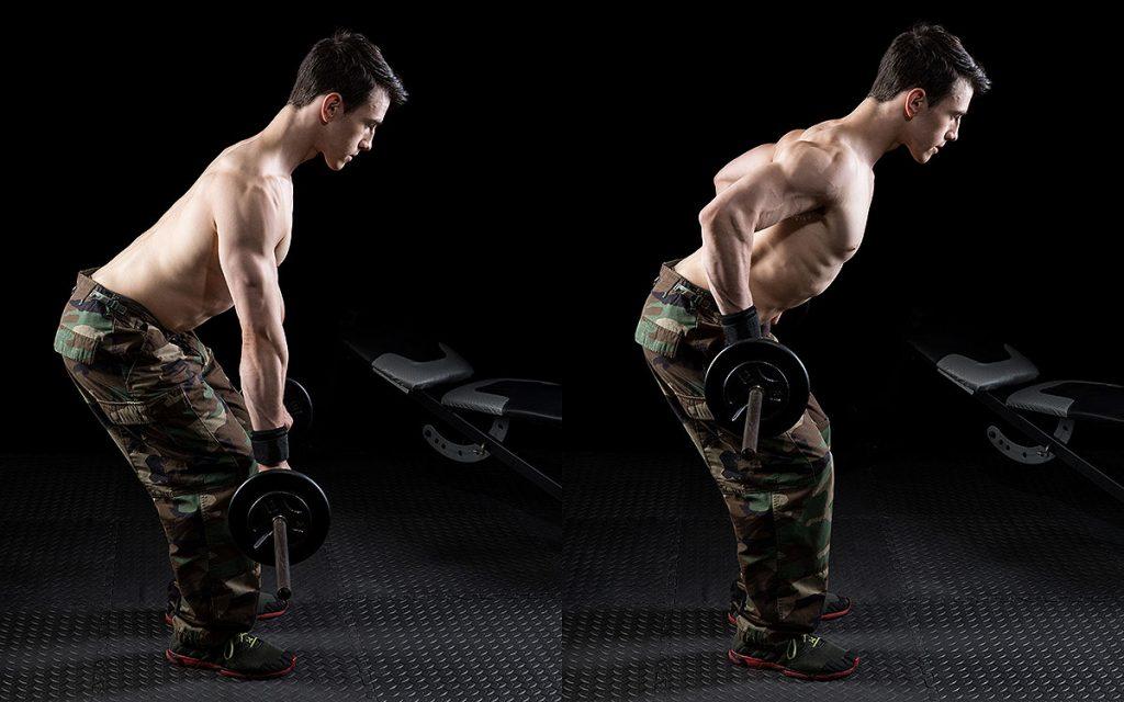 ejercicios de espalda con mancuernas mejores