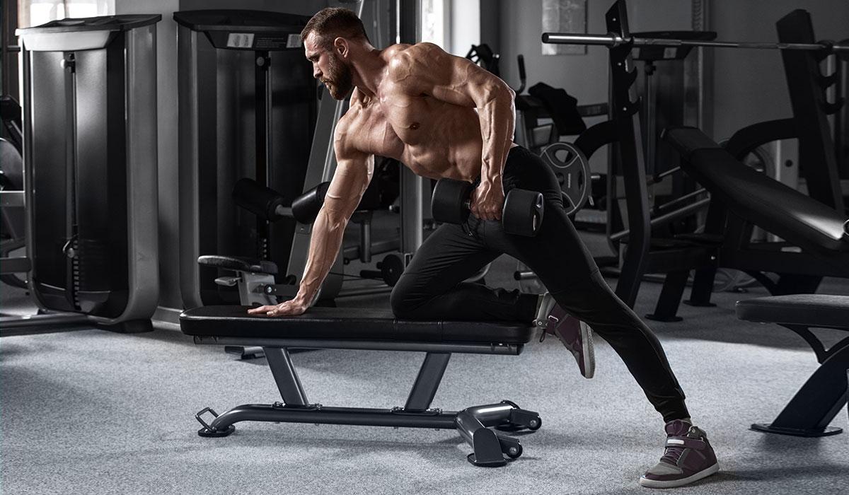 Rutina de gimnasio de 3 días por semana – Ejemplo para aumentar volumen