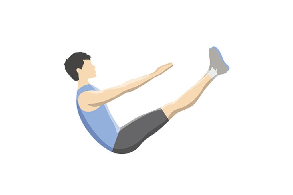 ejercicios estaticos abdominales