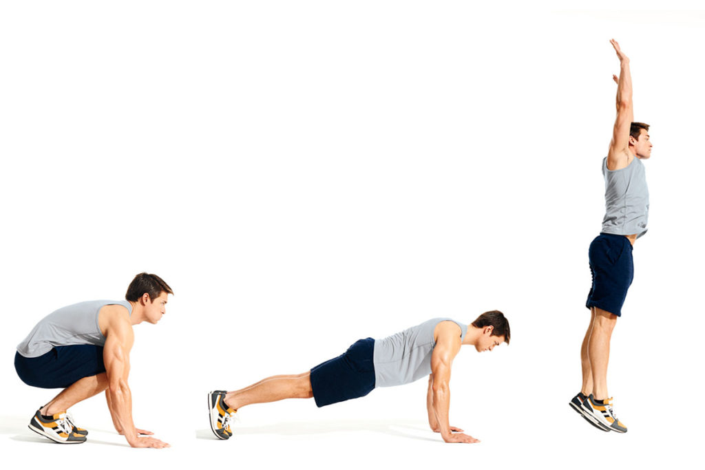 burpee tecnica beneficios