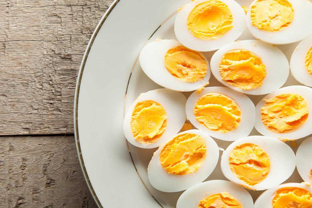 colesterol del huevo