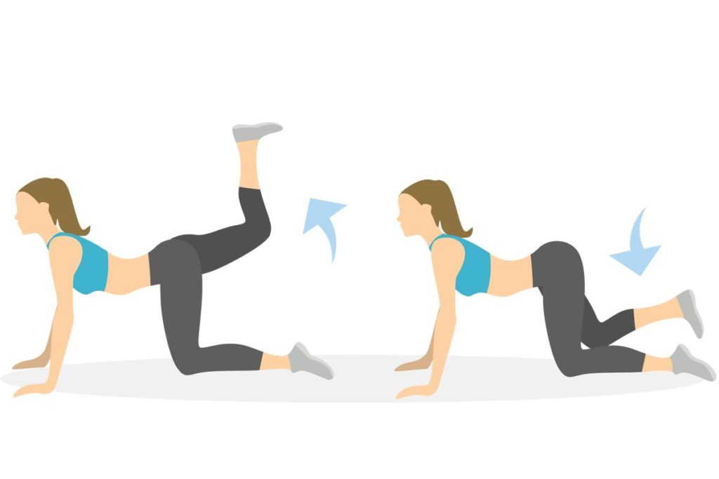 patada de burro tabata ejercicios principiantes