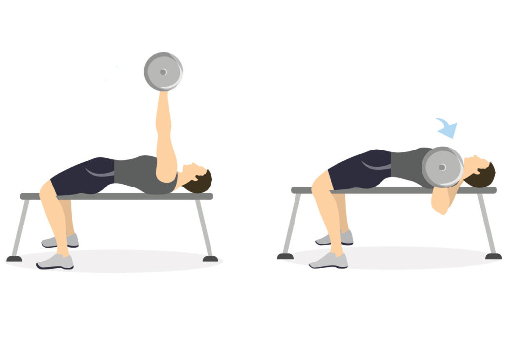 ejercicios pectorales volumen