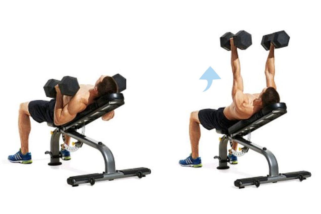 ejercicios de pectorales para aumentar volumen