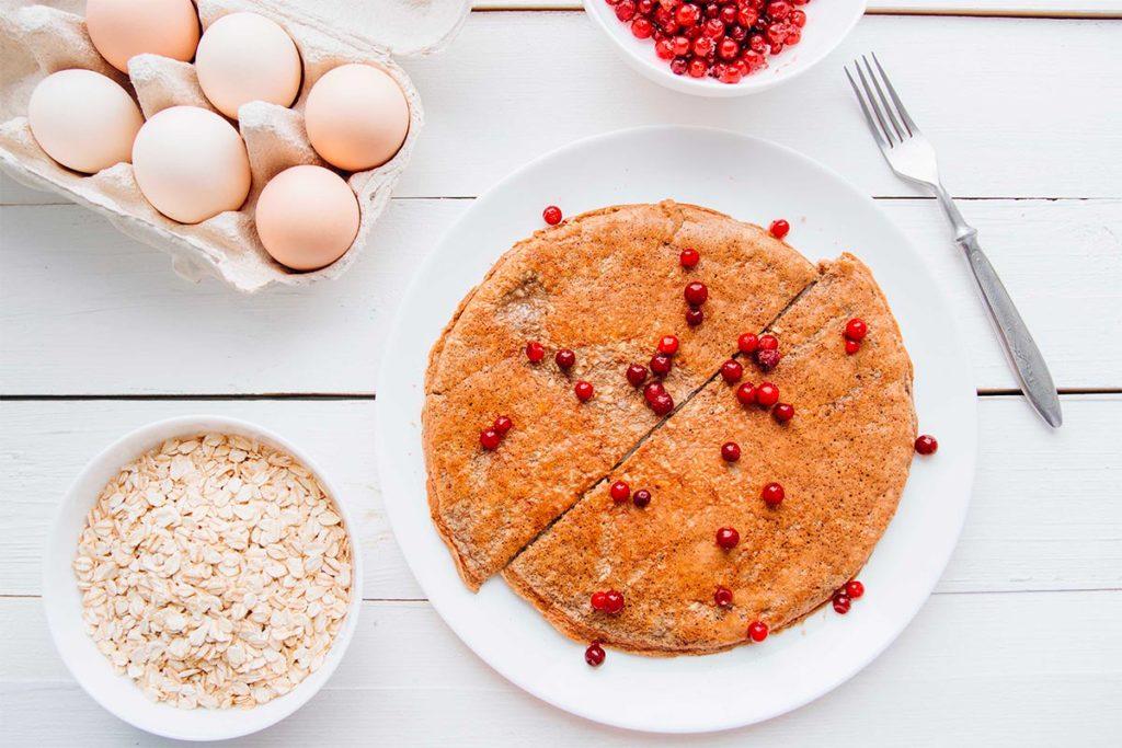pancakes de avena sin harina ni azucar como cocinar