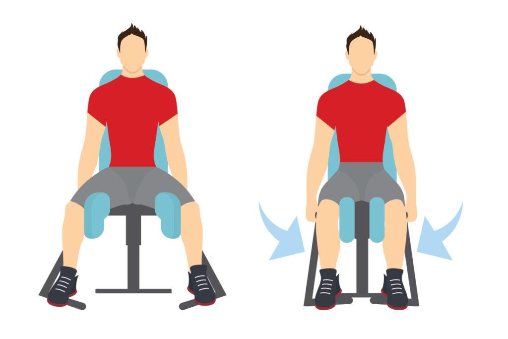 dia de piernas ejercicios