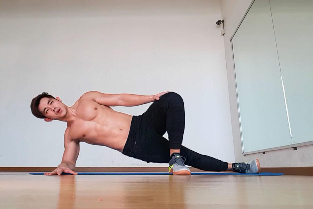 tipos de planchas abdominales tecnica principiantes