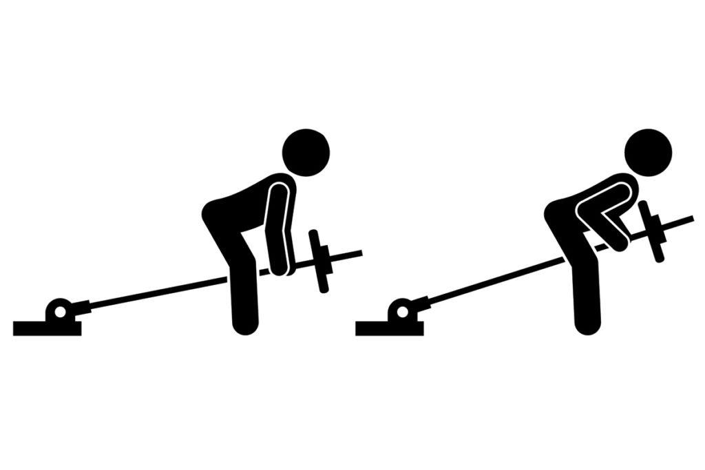 ejercicios con barra para trabajar la espalda