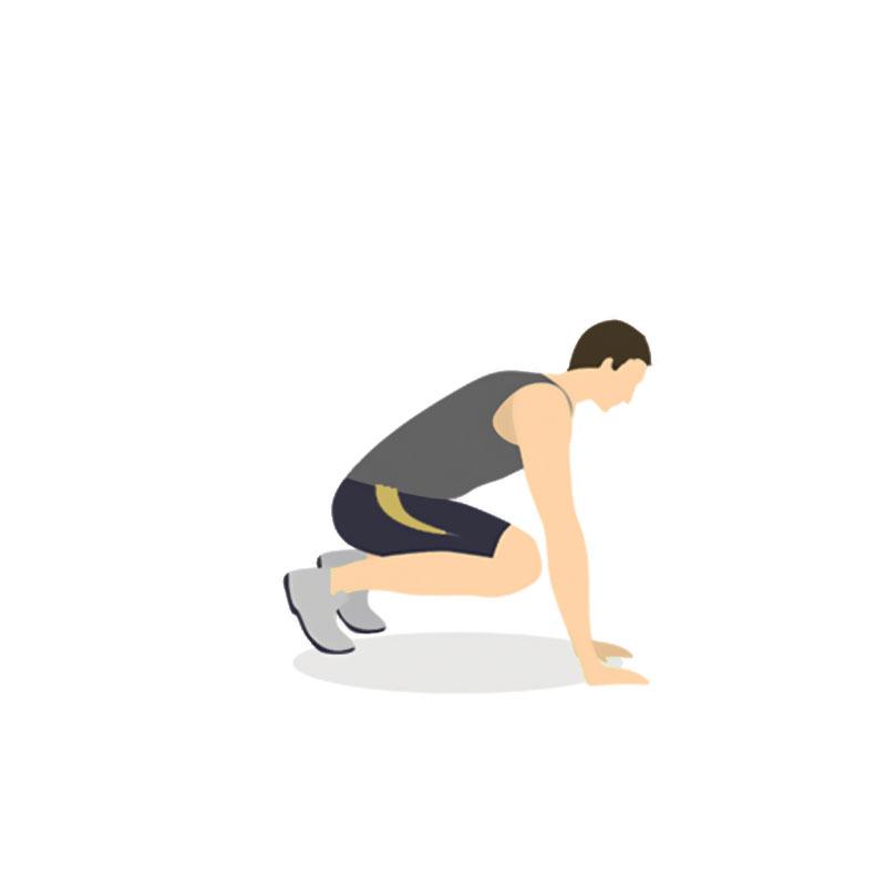 Burpee – Un ejercicio para aumentar la resistencia, fuerza muscular y tonificar la musculatura.  Beneficios, técnica y descripción detallada de cómo hacer burpees.