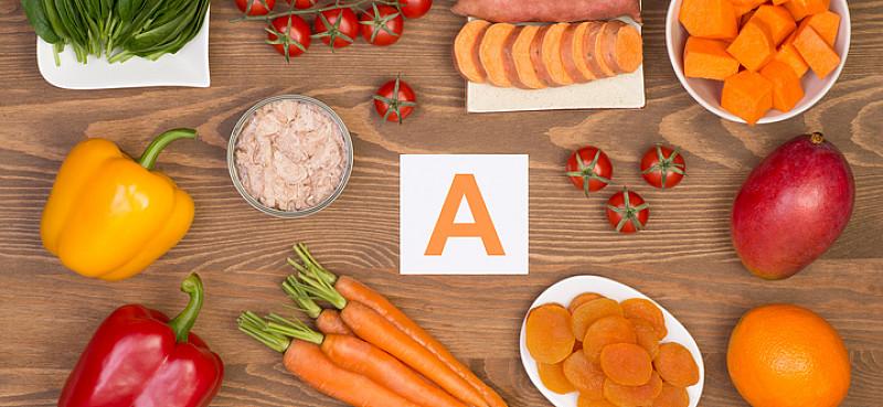 Vitamina A – Alimentos y cantidad recomendada por día