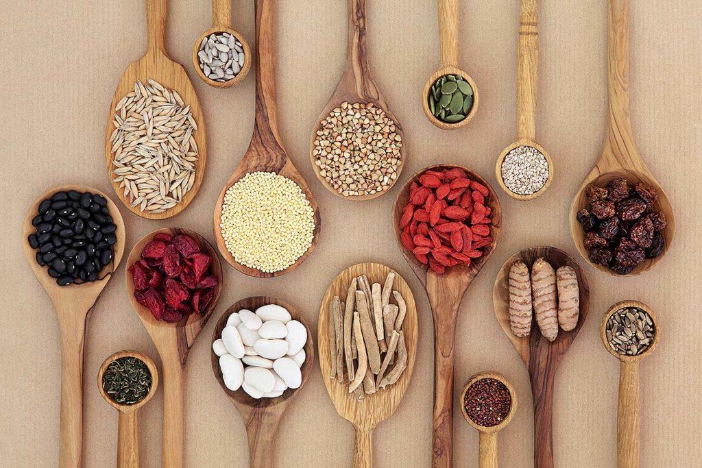 alimentos con fibra vegetal
