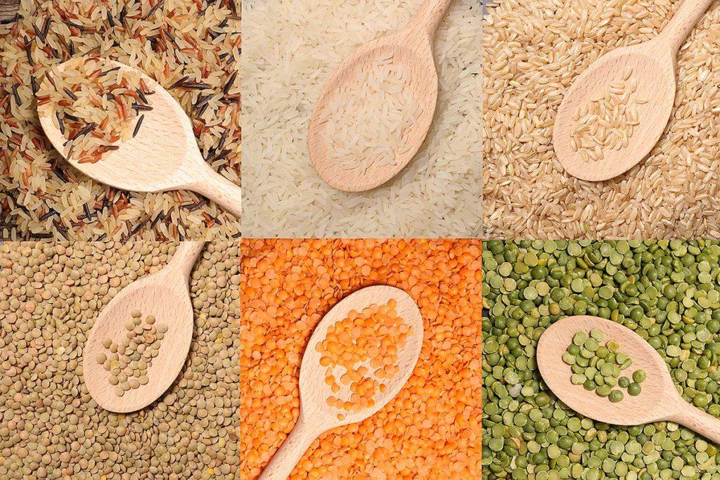 ejemplos de alimentos con carbohidratos lentos o complejos