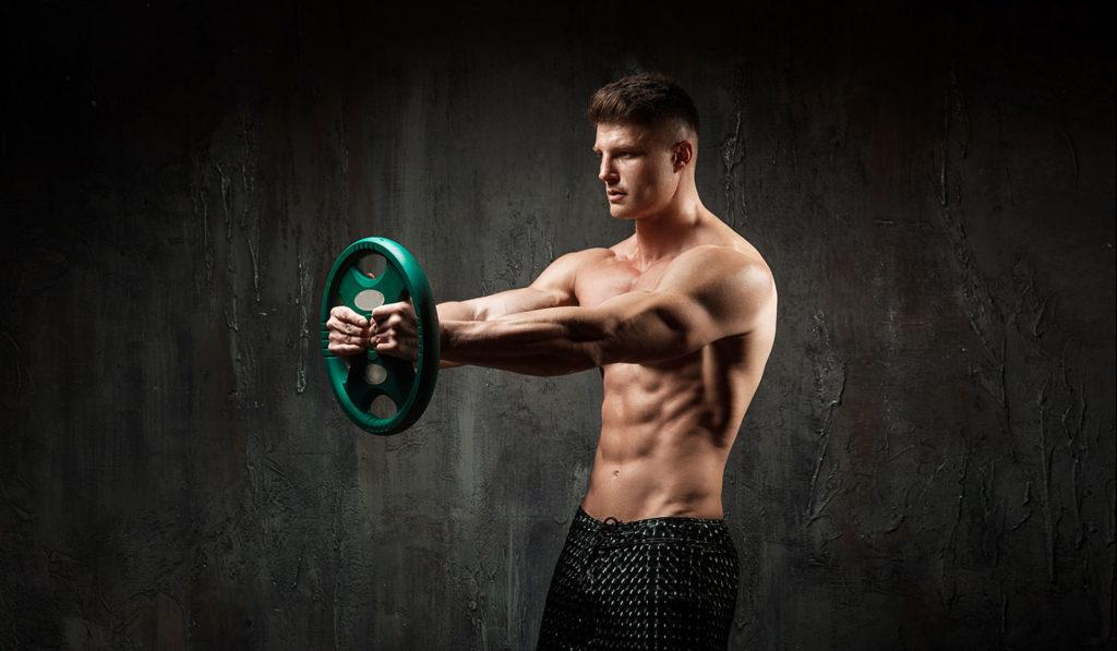 ejercicios para hombros volumen