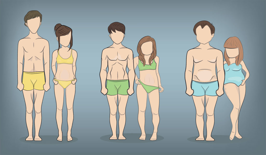 somatotipo corporal endomorfo mesomorfo ectomorfo tipos de complexión física