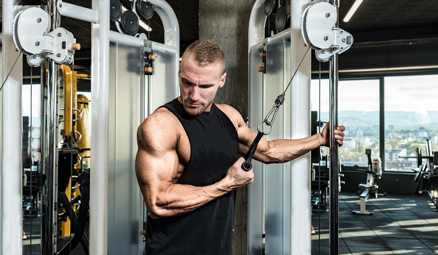 Ejercicios para trabajar tríceps – Los 7 mejores para aumentar el volumen
