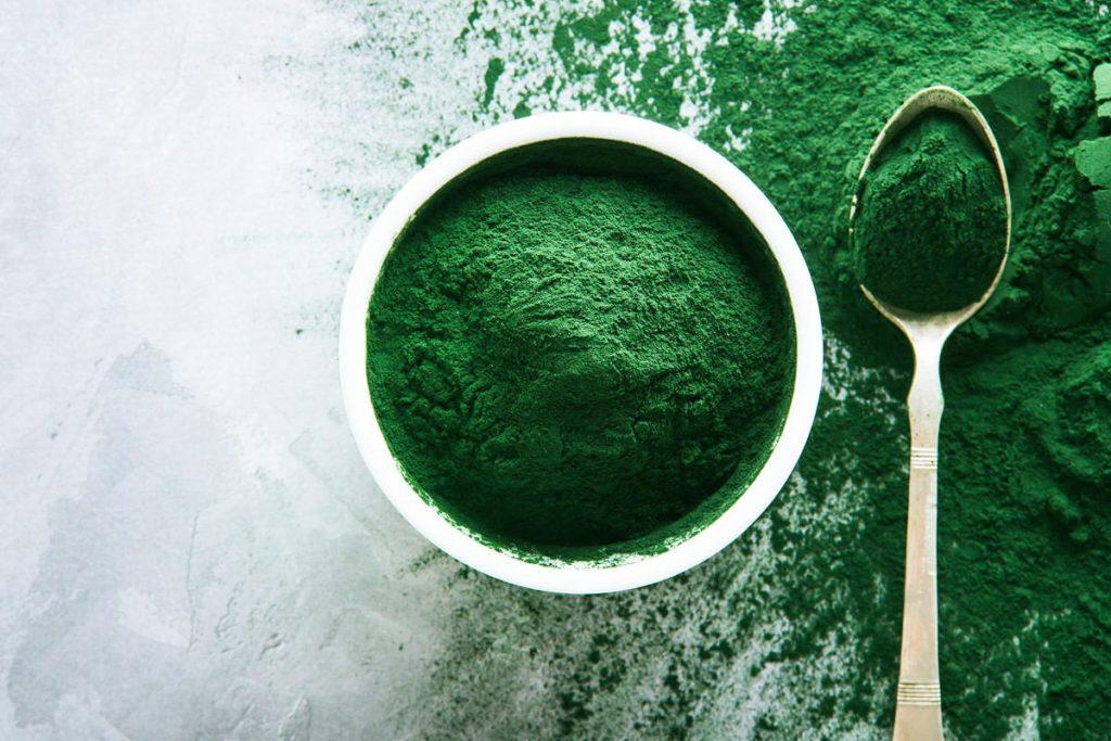 alimentos verdes espirulina