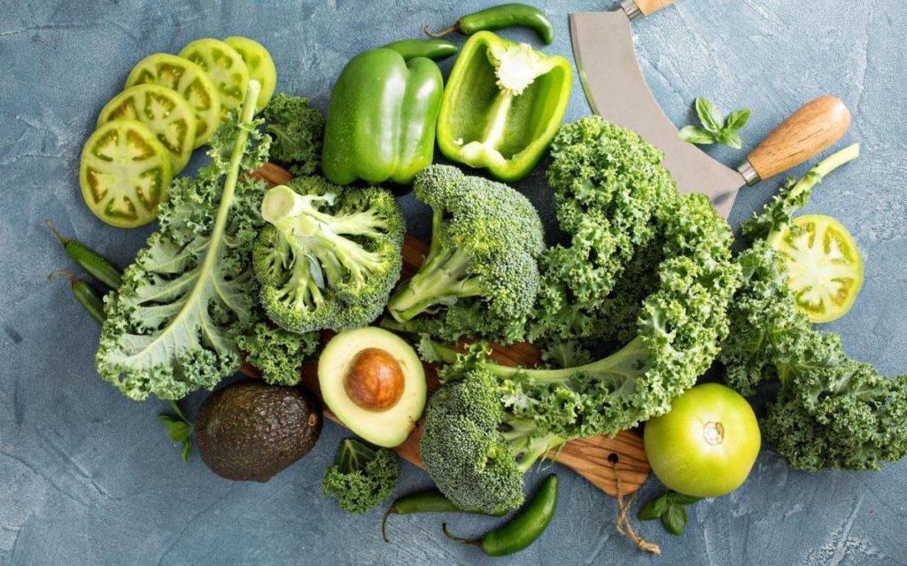 alimentos verdes cuales son los beneficios