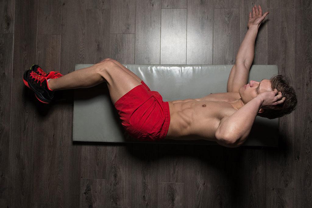ejercicios abdominales para hombres