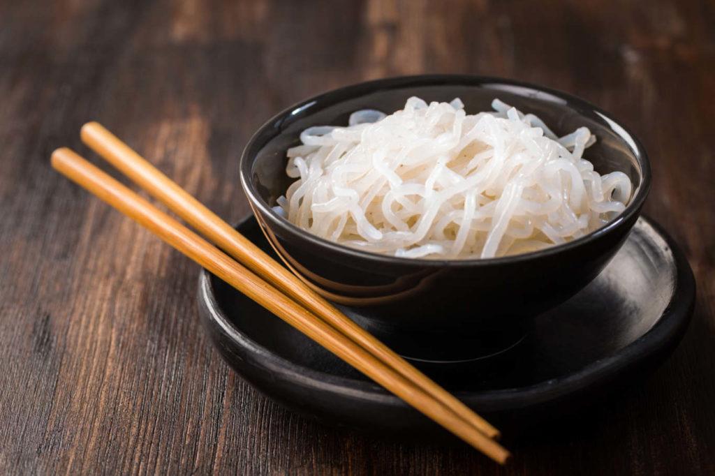 alimentos cetogénicos shirataki