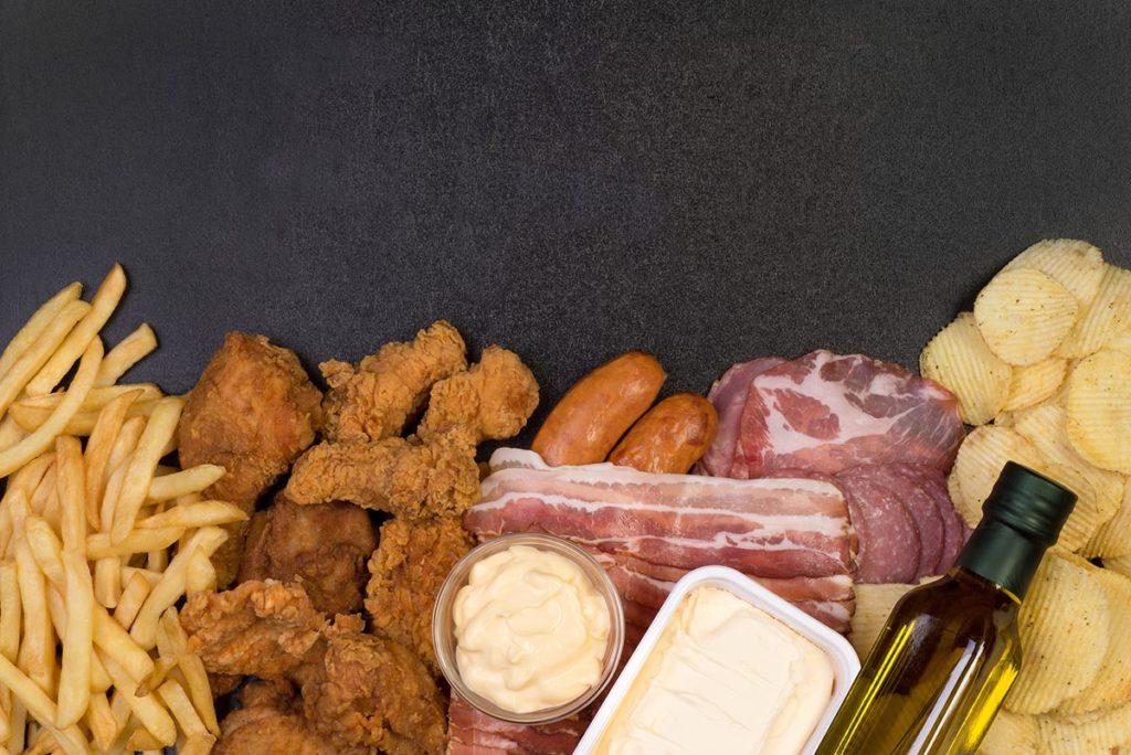 grasas no saludables keto dieta