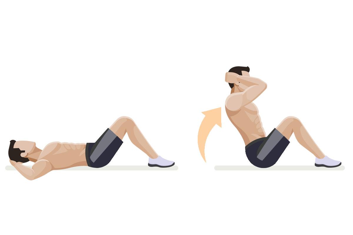 tipos de ejercicios abdominales