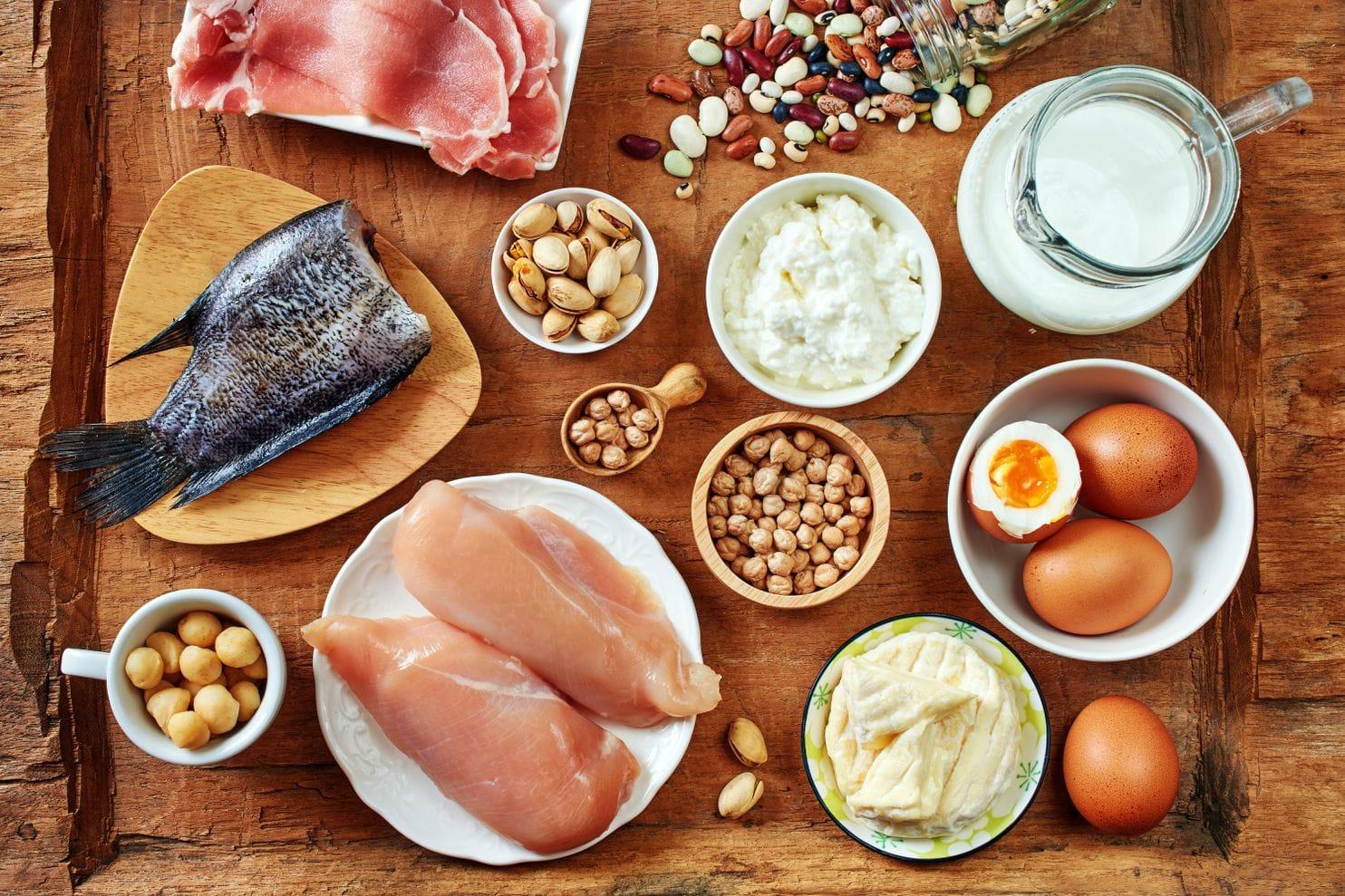 Productos ricos en proteínas – Tabla completa ¿Alimentos o suplementos?