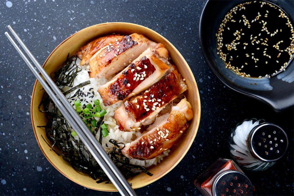 salsa teriyaki usos en las comidas propiedades mala