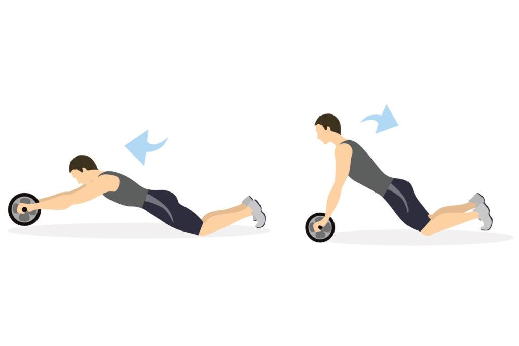 marcar el abdomen ejercicios tipos