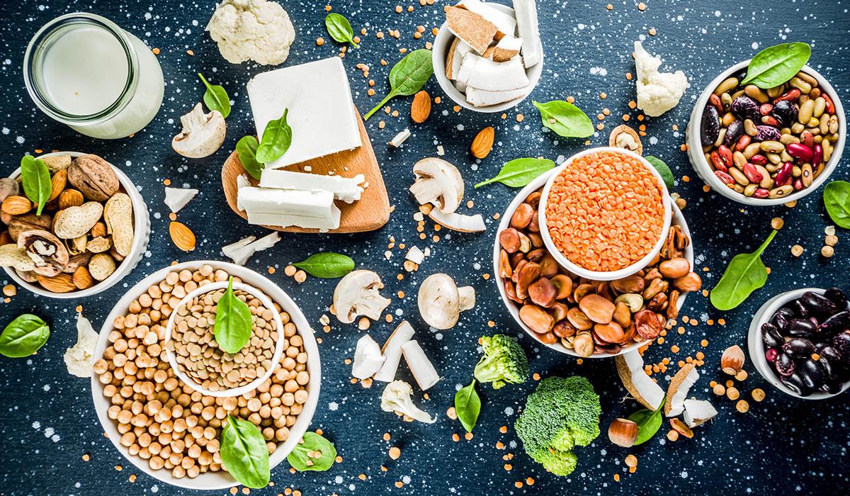 Proteínas vegetales – ¿Cuáles son los 10 alimentos con mayor cantidad?