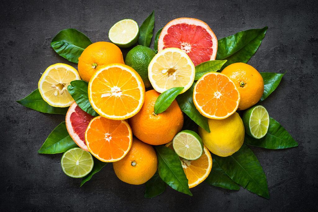 alimentos ricos en vitamina c para la piel