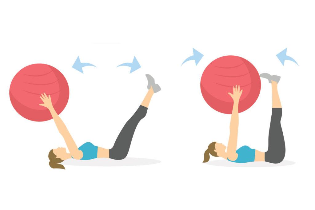 mejores ejercicios abdominales para hacer en casa