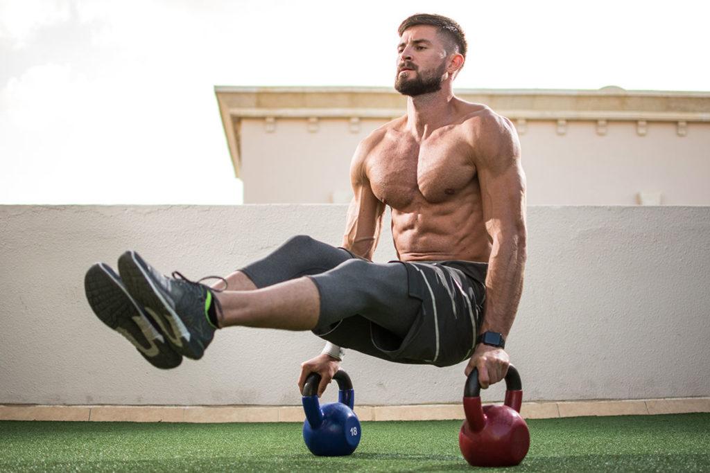 pesas rusas aumentar masa muscular ectomorfo