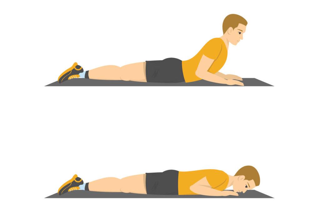ejercicios para terminar una rutina de musculacion de espalda