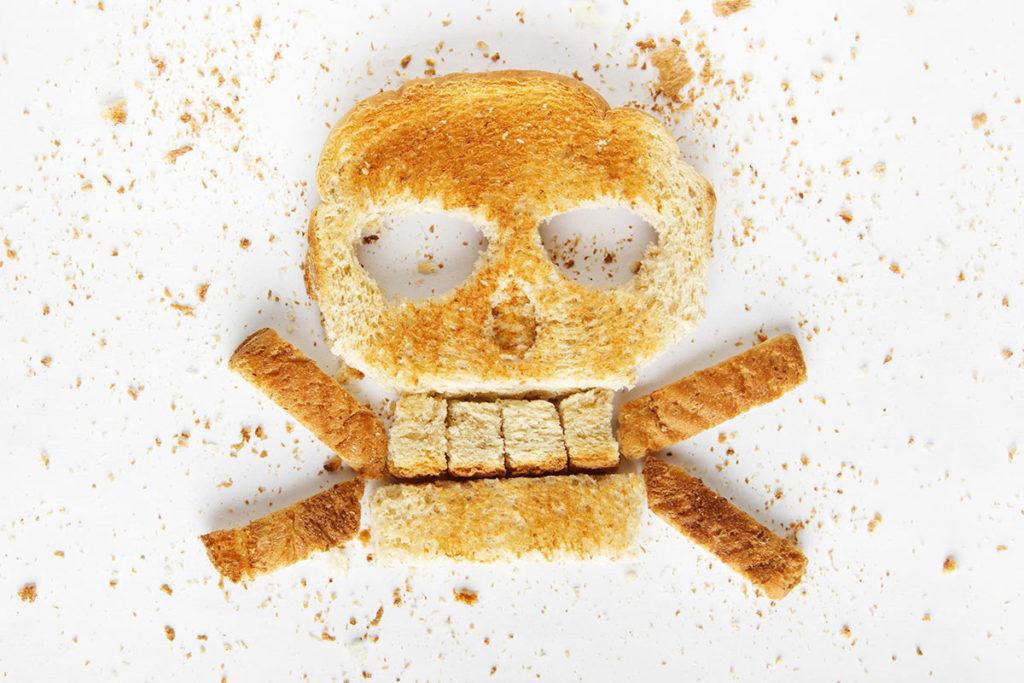 daños consecuencias exceso ejemplos gluten