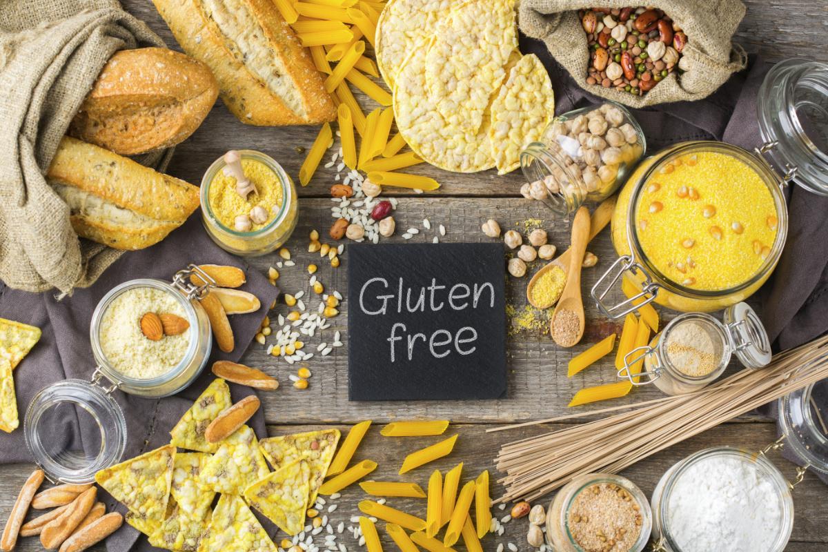 Ejemplos de productos con y sin gluten | Lista completa de alimentos