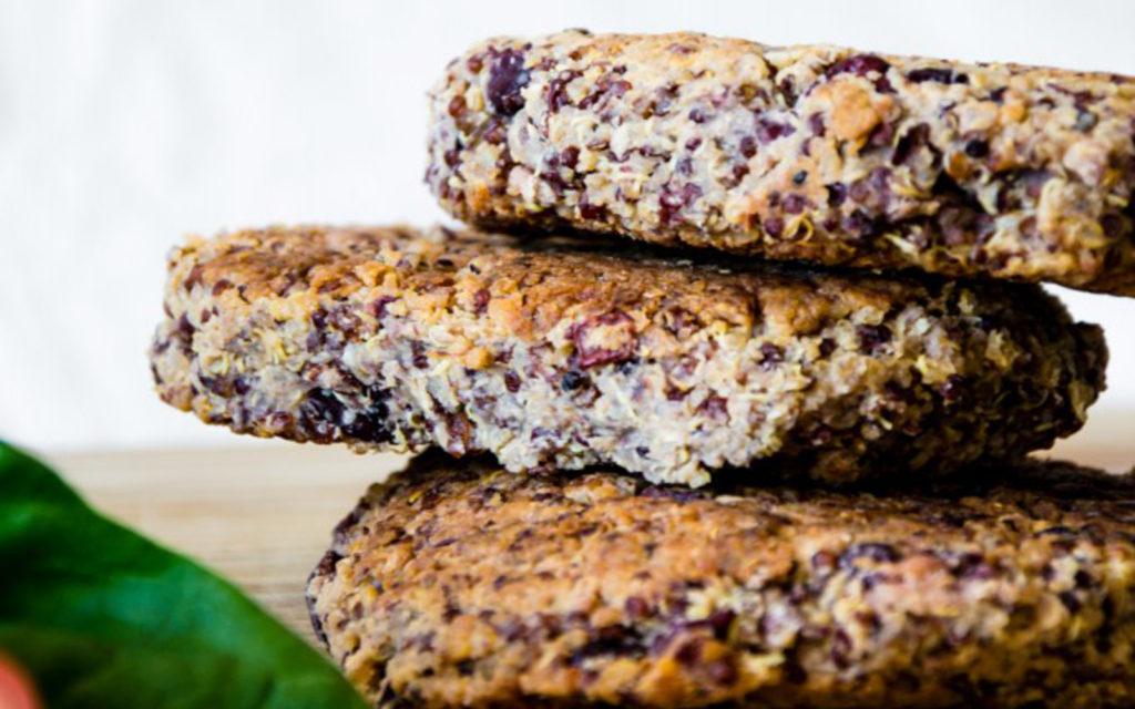 hamburguesas de quinoa receta facil vegana