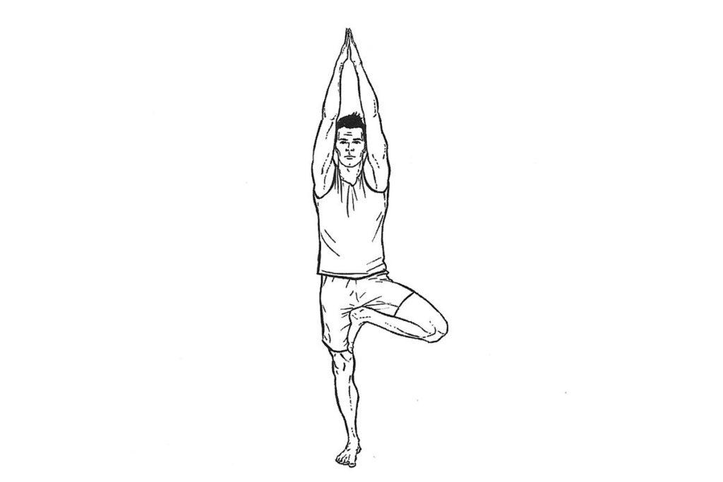 ejercicios de yoga equilibrio