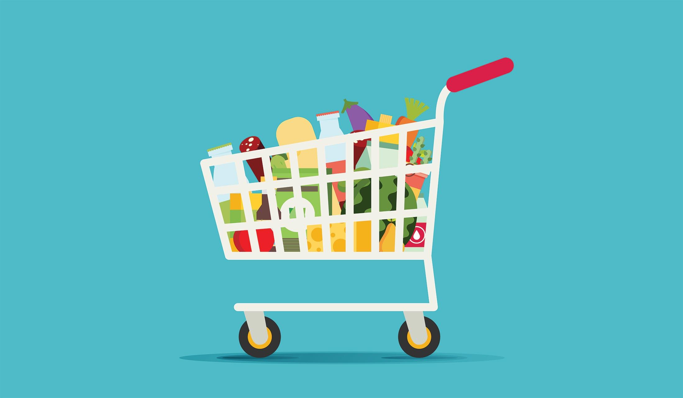 Lista de compras para la dieta cetogénica