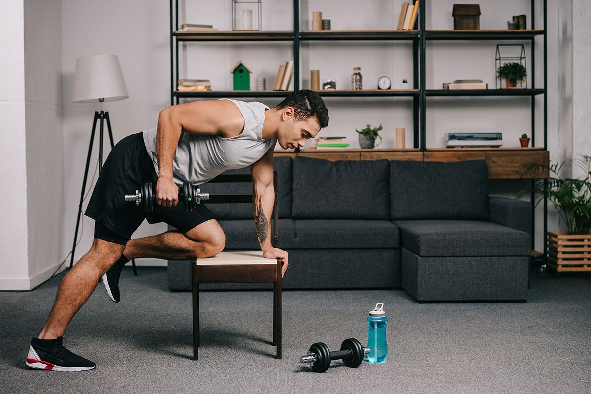 Rutina para brazos – Los 10 mejores ejercicios para hacer en casa
